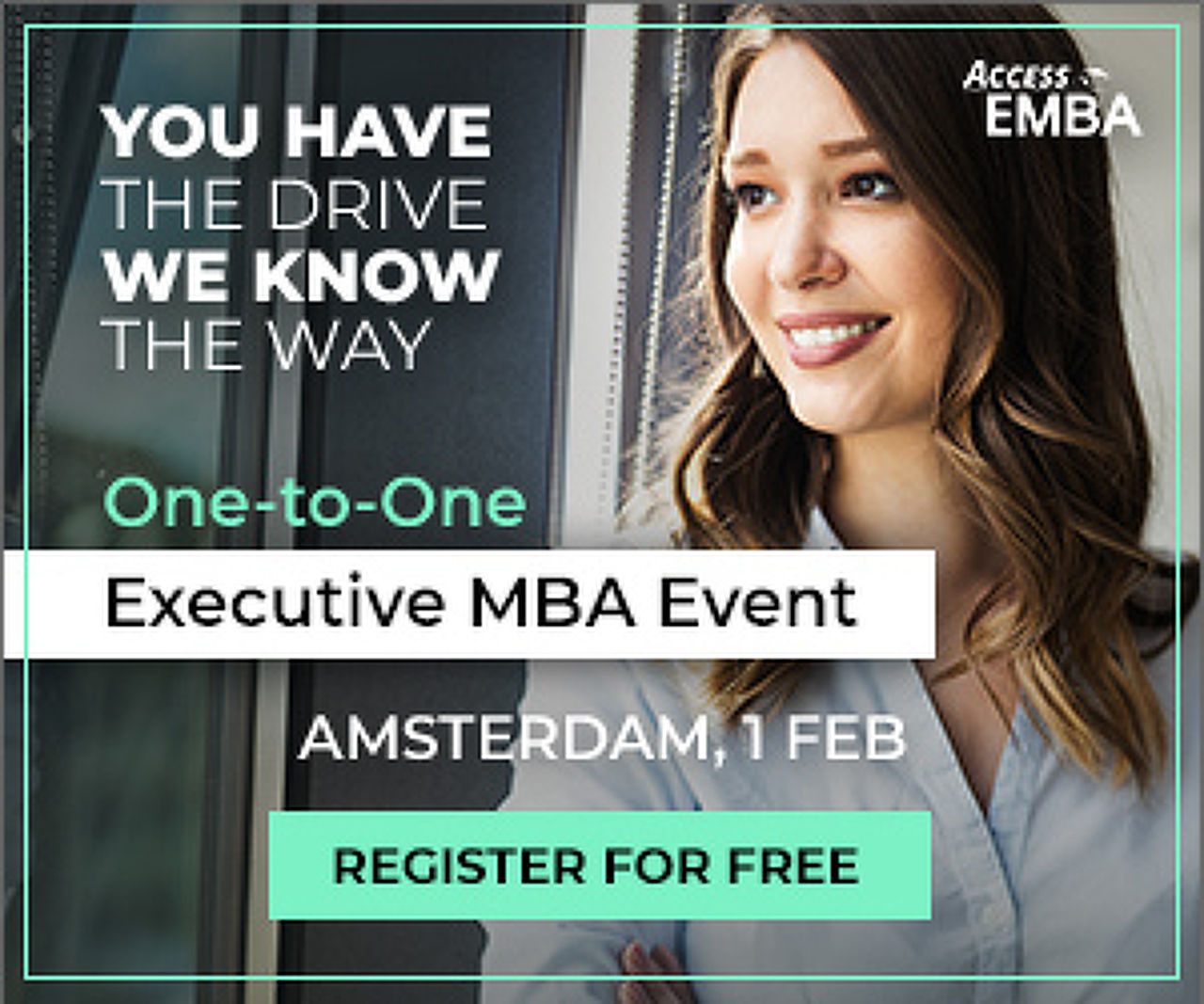 An Executive MBA event in Amsterdam!