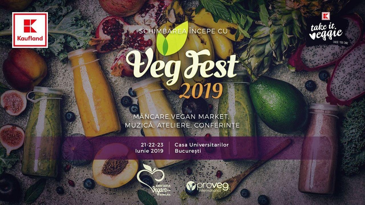 VegFest 2019 Bucuresti - Vegan Festival Romania