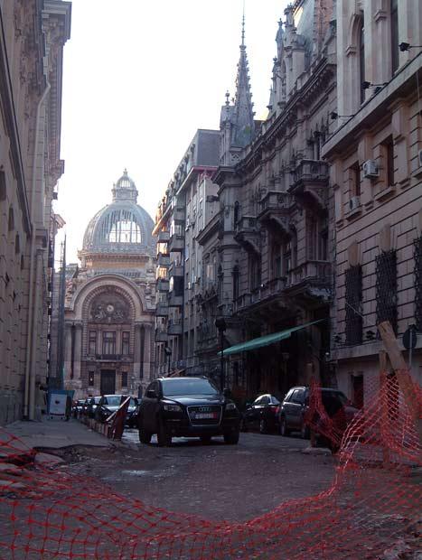 Lipscani: Bucharest's Beleagured Beauty