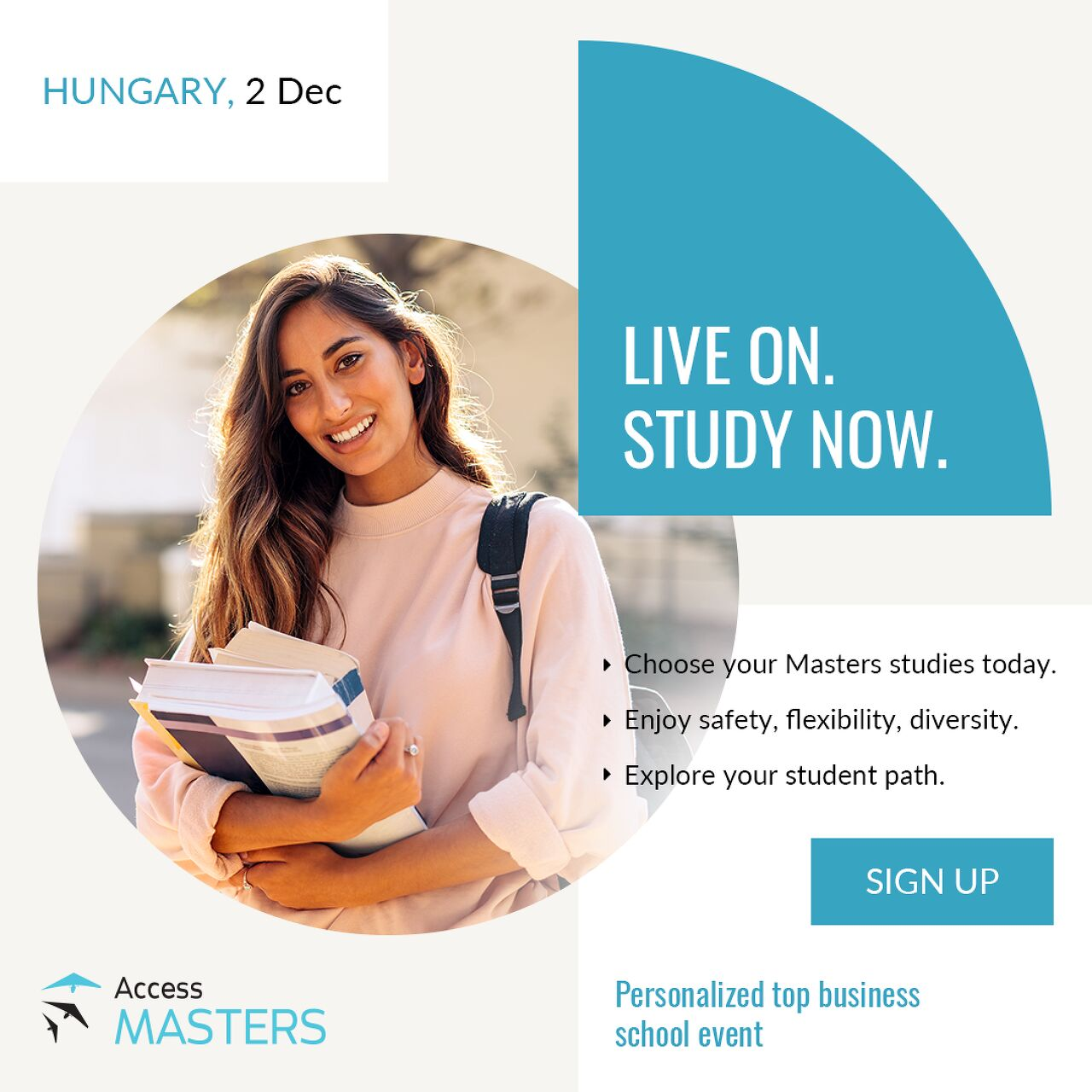 Meet top-ranked universities online at the Hungary Access Masters Online Event in December!