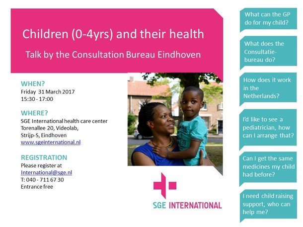 Children (0-4 yrs) and Their Health