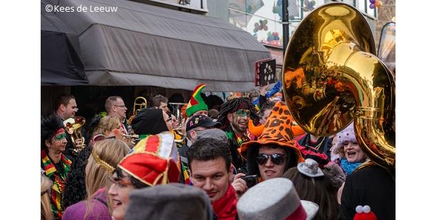 Carnaval celebrations in Eindhoven in 2017