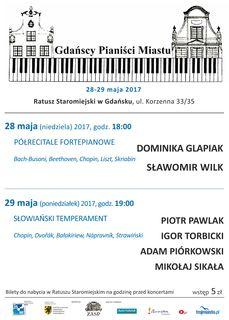 Piano Festival in Gdansk   GDAŃSCY PIANIŚCI MIASTU