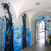 Gdansk Corridor Mural3