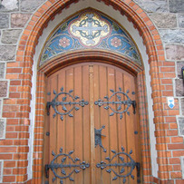 Door of St. George's, Sopot