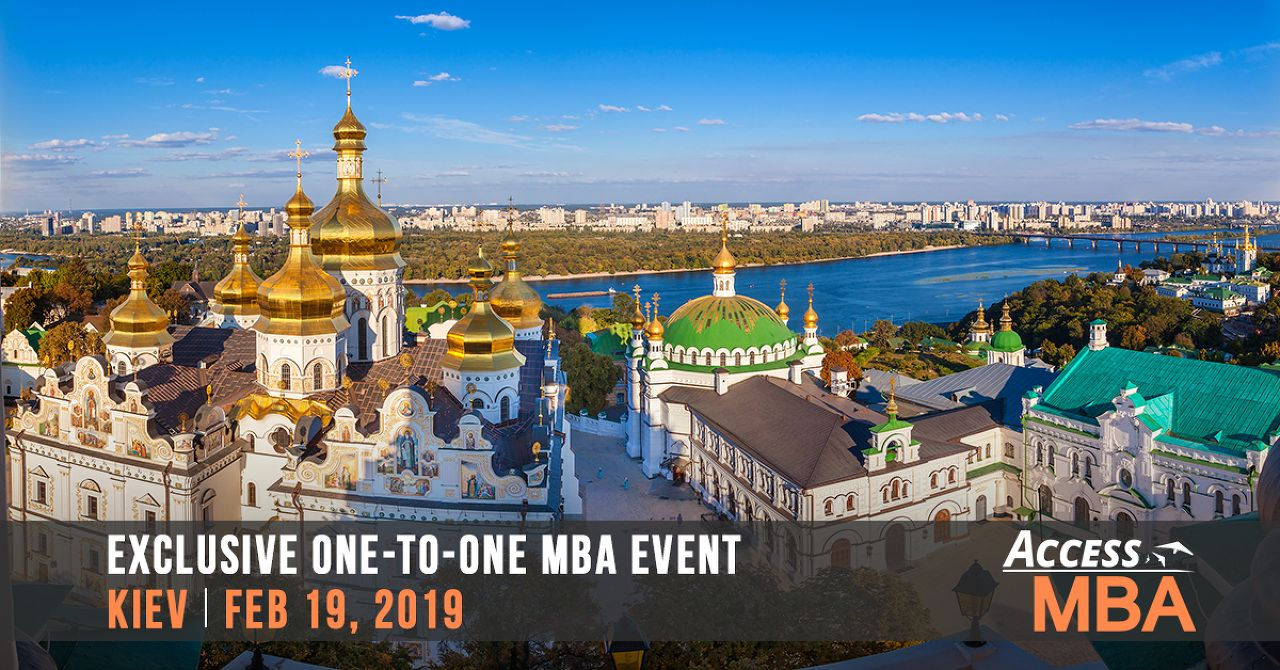 Exclusive MBA event in Kiev, Feb 19