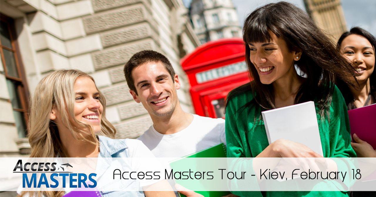 Exclusive Masters Event in Kiev, Feb 18
