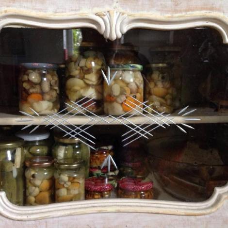 What to eat in Poland : marynowane grzyby