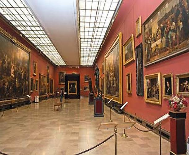 The Gallery of 19th Century Art in the Cloth Hall