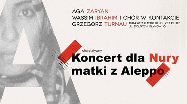 Concert for Nura: a mother from Aleppo