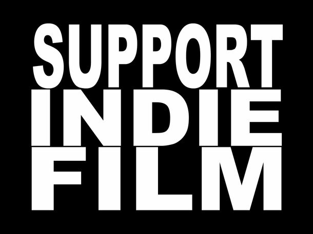 Independent film presented by director or cast