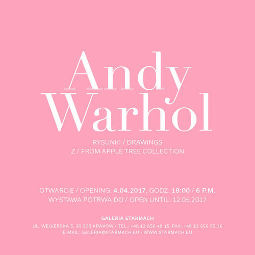 Andy Warhol: Drawings from Apple Tree Collection