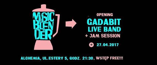Music Blender – Gadabit – Jam Session