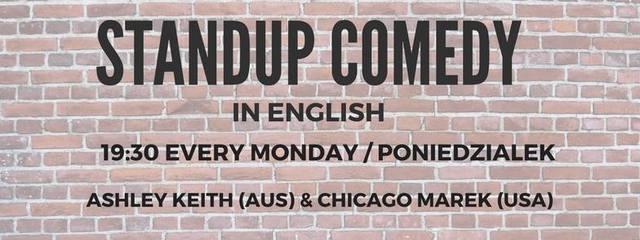 Standup Comedy Night in English!