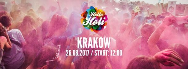 Hello Holi (Festival of Colour in Krakow!)