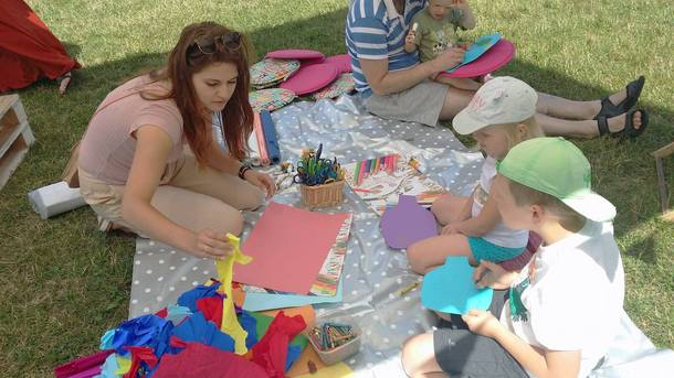 International Culture Centre (ICC) workshops at the Picnic Krakowski
