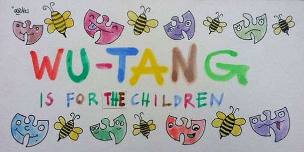 Wu-Tang art workshops for children and adolescents