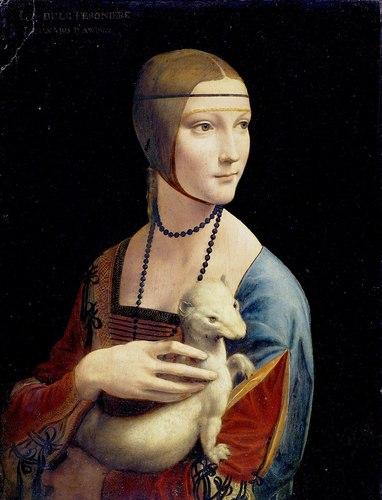 Lady with an Ermine- Leonardo Da Vinci