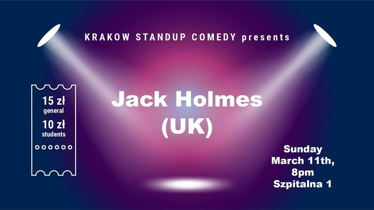 Standup comedy in English - Jack Holmes