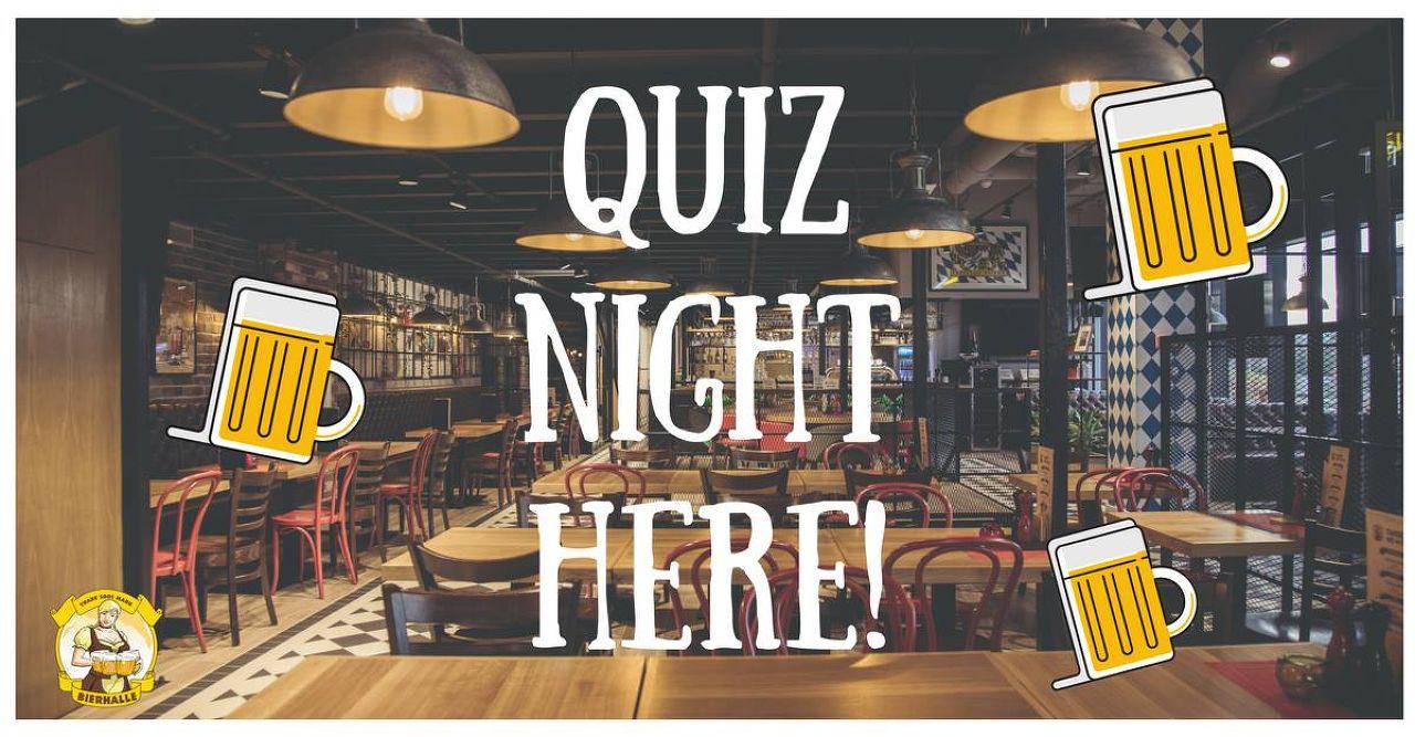 Bierhalle - Traditional Pub Quiz Night in English!