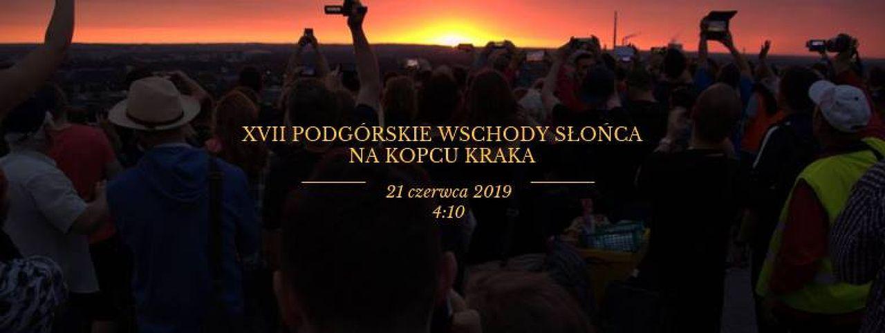 XVII Podgórze Sunrise on the Krakus Mound