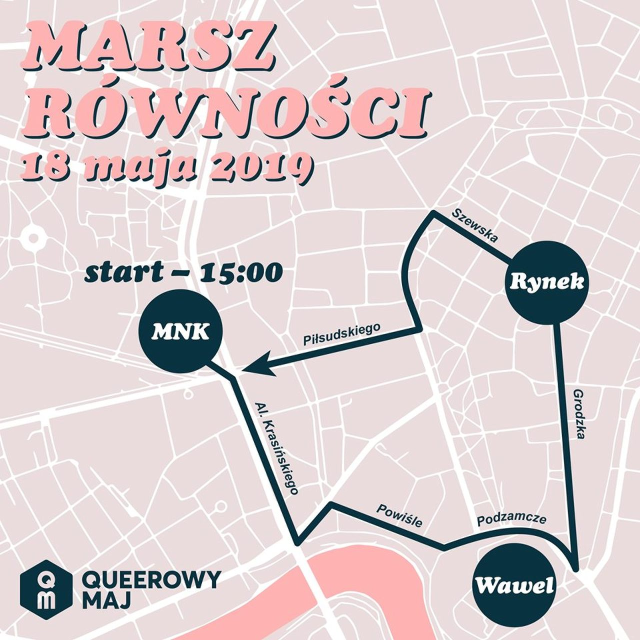 Krakow Equality March 2019: Let's make a paradise