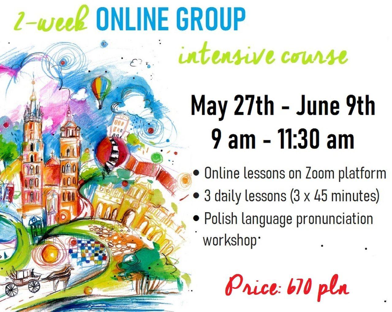 Two Week Intensive Polish Language Online Courses at VARIA