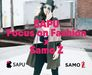 SAPU Focus on Fashion x Samo Ż