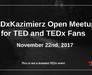 TEDxKazimierz Open meetup for TED and TEDx fans