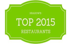 Krakow's Top Restaurants in 2015