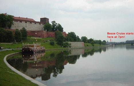 Krakow Booze Cruise