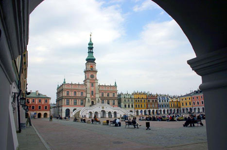 Zoom In On Zamosc