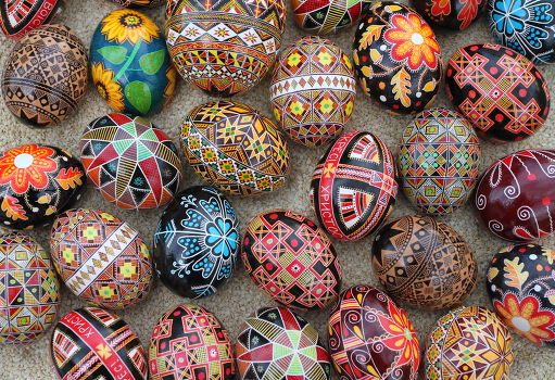 Pisanki: Traditional Painted Easter Eggs