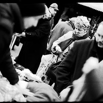 Market shoppers
