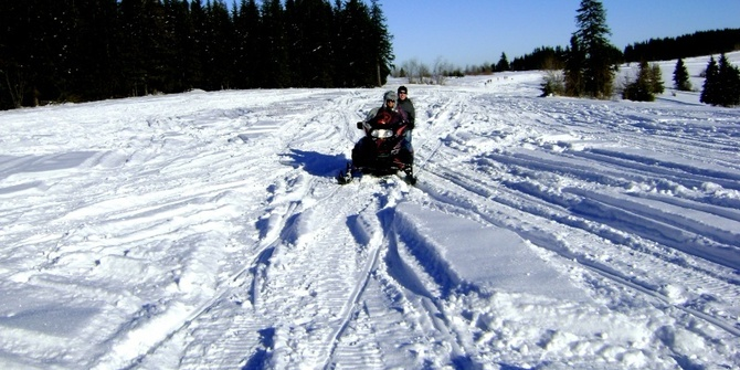 Photo 2 of Snowmobiling Snowmobiling
