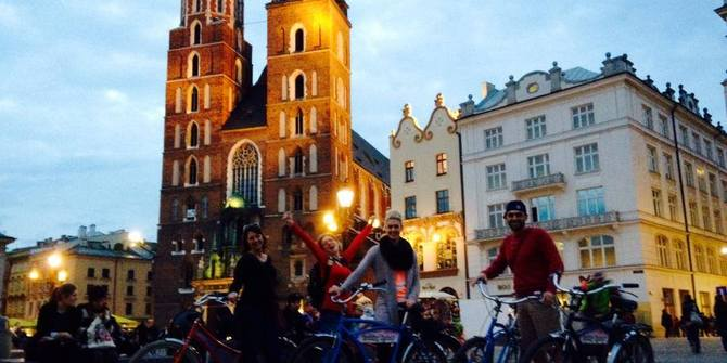 Cruising Krakow