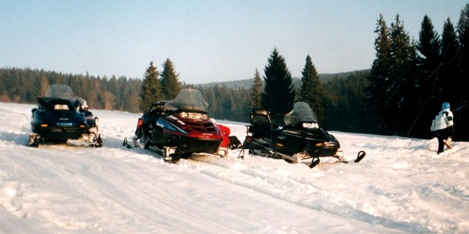 Photo 1 of Snowmobiling Snowmobiling