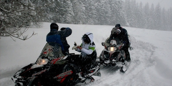 Photo 3 of Snowmobiling Snowmobiling
