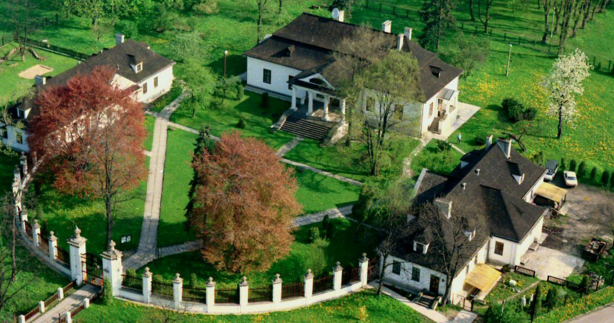 Bialy Pradnik Manor