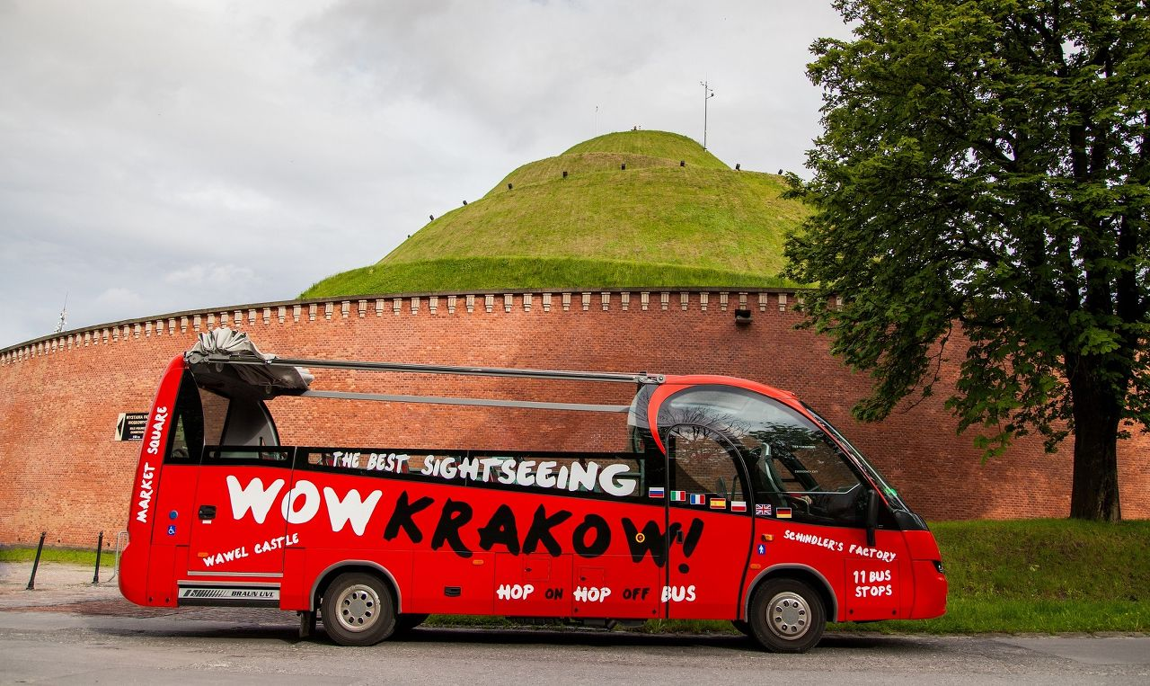 Photo 1 of Wow Krakow! Hop on Hop off Bus