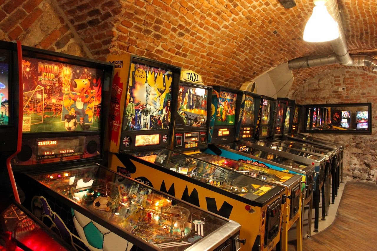 Photo 1 of Krakow Pinball Museum
