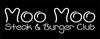 Moo Moo Steak & Burger Club logo