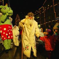 Grandpa Frost Procession