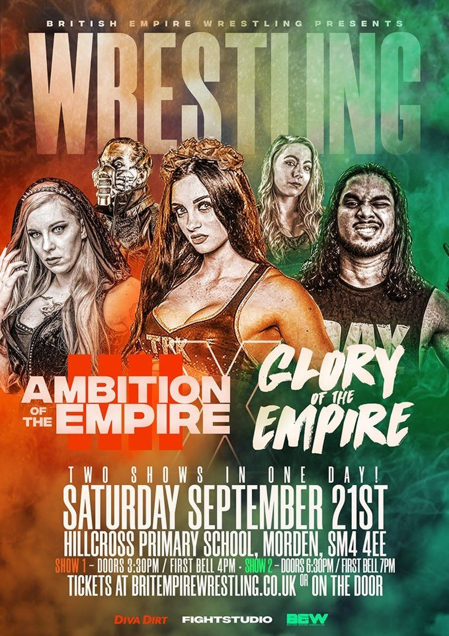 LIVE Wrestling! BEW Ambition of an Empire and Glory of an Empire!