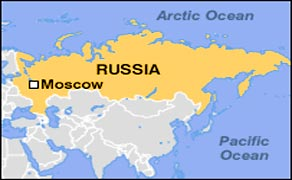 Moscow Information Basic Facts And Figures - Russia location