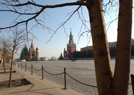 Red Square - it's not red and it's not square!