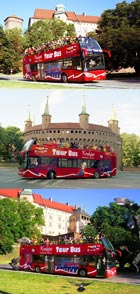 Krakow Tour Bus
