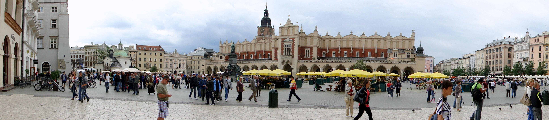 Kraków,_Panorama_Rynku_Głównego