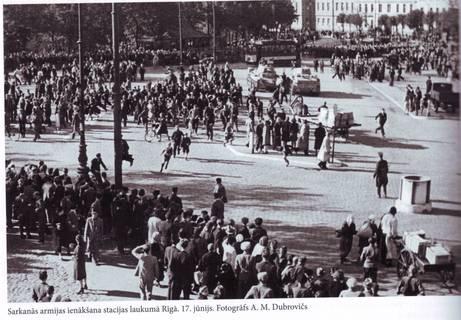 Occupation Of Latvia