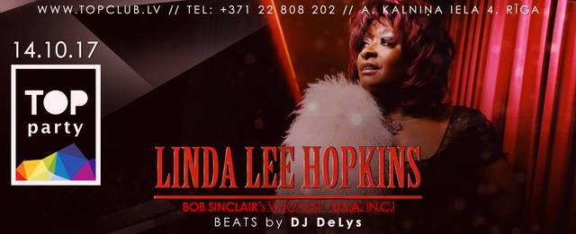 Linda Lee Hopkins in TOP Club Riga